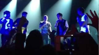 getlinkyoutube.com-Nath Kisses a Fan [The Wanted @ Irving Plaza, NYC 1.22.12]