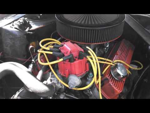 67 mercury cougar engine ping...