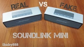 getlinkyoutube.com-Bose Soundlink Mini Speaker - Original VS Replica!