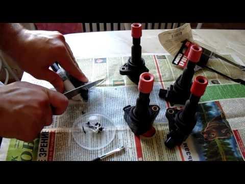Ремонт катушки зажигания HONDA-Fit-Mobilio Repair ignition coil HONDA-Fit-Mobilio