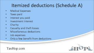 getlinkyoutube.com-Itemized deductions (Schedule A)