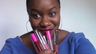 getlinkyoutube.com-Colour Pop Ultra Matte Lip Swatches and Coloured Raine Swatch
