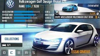 getlinkyoutube.com-Asphalt 8 NEW Golf Design Vision GTI Tenerife multiplayer