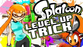 getlinkyoutube.com-Splatoon - Level Up Trick, Gain Experience FAST in Turf War
