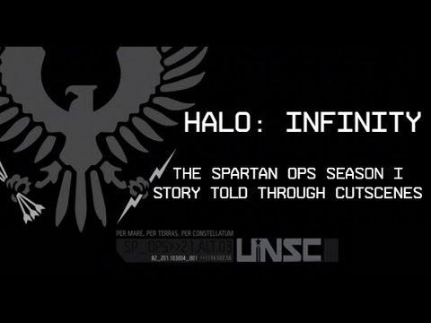 Halo: Infinity - Spartan Ops Season One - All Cutscene Movie