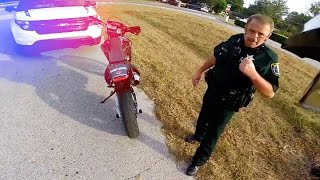 getlinkyoutube.com-Cops Vs Bikers 2016 - Cool Cops & Angry Cops [Ep.#18]