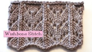 getlinkyoutube.com-Fancy Stitch Combo - Wishbone Stitch