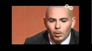 getlinkyoutube.com-(1/5) Pitbull (HQ) La Entrevista
