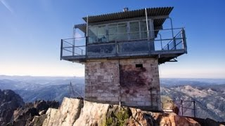 getlinkyoutube.com-Sierra Buttes Fire Lookout Hike