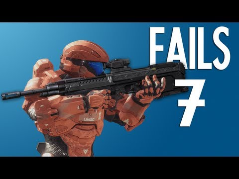 No lo intentes en casa : #7 (Halo 4 Fails)