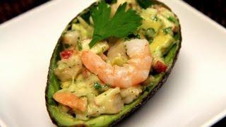 getlinkyoutube.com-Avocado Shrimp Appetizer Recipe - CookingWithAlia - Episode 209