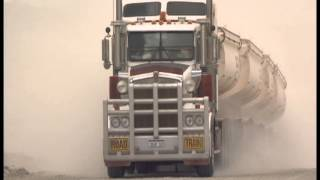getlinkyoutube.com-The biggest, longest trucks in the world    Road trains in the Australian Outback