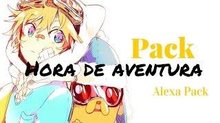 getlinkyoutube.com-Pack hora de aventura ♟   Alexa Pack