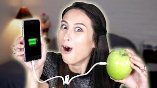 getlinkyoutube.com-LIFE HACKS UITPROBEREN - TELEFOON OPLADEN MET EEN APPEL?!