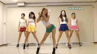 getlinkyoutube.com-PSY - GANGNAM STYLE () Waveya  Korean dance team - 80429015+ Views.flv