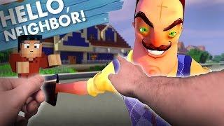 getlinkyoutube.com-Hello Neighbor Realistic - New Neighbor and his SECRET! - (Minecraft Hello Neighbor)