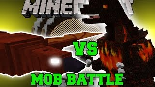 getlinkyoutube.com-RODAN VS BURNING GODZILLA - Minecraft Mob Battles - Minecraft Mods