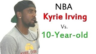 getlinkyoutube.com-Kyrie Irving NBA Vs 10-year-old Max Basketball Shooting Contest: The Rematch