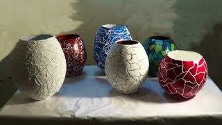 Vasos e potes de jornal - parte2