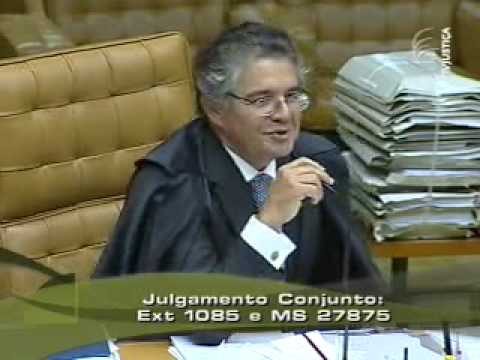 Debate entre ministros do STF no caso Cesare Battisti (15/20)