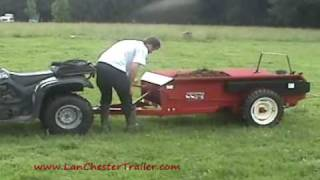 getlinkyoutube.com-Manure Spreader by LanChester Trailers
