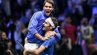 Roger Federer & Rafael Nadal   Pure Friendship   Beautiful & Funny Moments   2017