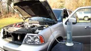 getlinkyoutube.com-HHO Dry Cell Test in a Vehicle