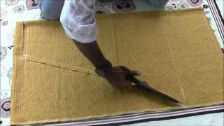 getlinkyoutube.com-Salwaar Kameez Tutorial Part 2 Salwaar Cutting