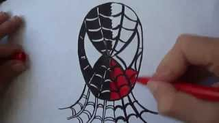 getlinkyoutube.com-How to draw Spiderman Venom (Ehedov Elnur)Челове́к-пау́к