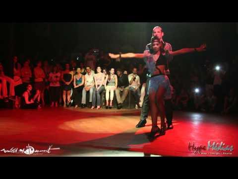 Show Kizomba & Semba d'Isabelle et Félicien - United Kiz Toulouse 2012
