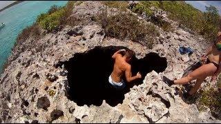 getlinkyoutube.com-Miami To Exuma Bahamas on Sea-Doos Part VI: Island Explorers