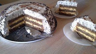 getlinkyoutube.com-Nougat torta