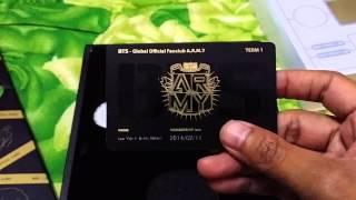 getlinkyoutube.com-[UNBOXING] 1/2 Official ARMY Membership Kit (1st Term) 방탄소년단 Bangtan Boys