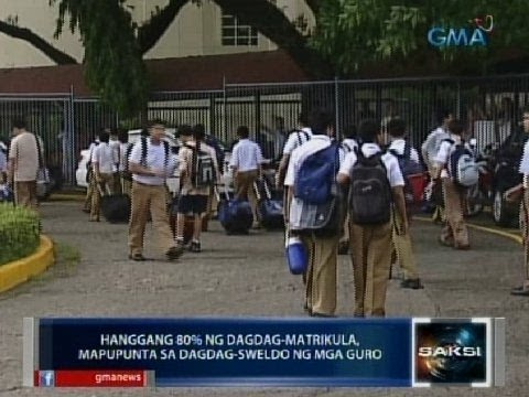 Tuition increase sa ilang private preschool, elementary at high school sa NCR