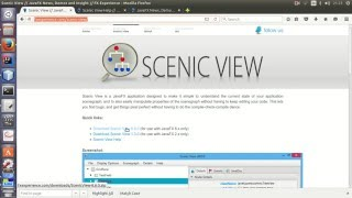 how to add Scenic View To your projects as a java agent