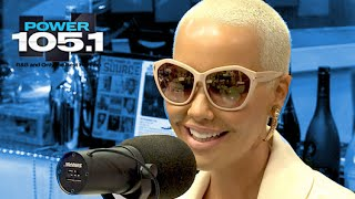 getlinkyoutube.com-Amber Rose Interview at The Breakfast Club Power 105.1 (02/13/2015)