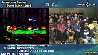 getlinkyoutube.com-Donkey Kong Country 2 :: SPEED RUN Live (0:46:14) by Reflected #AGDQ 2014