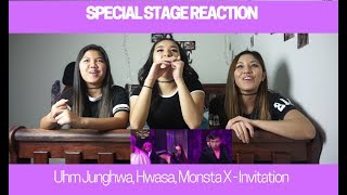 SPECIAL STAGE REACTION   Uhm Junghwa with Hwasa + MONSTA X - Invitation