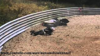 Motorcycle fail Nürburgring