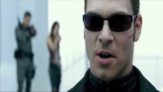 getlinkyoutube.com-Resident evil afterlife: Albert Wesker Vs Chris and Claire Redfield and Alice *Full Fight HD*