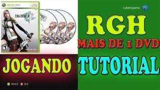 getlinkyoutube.com-COMO JOGAR NO XBOX360 RGH JOGO COM MAIS DE 1 DVD EXPLICAÇÕES COMPLETA