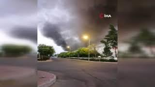 Son dakika Antalya haber: Antalya OSB'de yangın