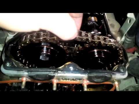 Цепь грм, Nissan Wingroad Y10. Ga15de ремонт.