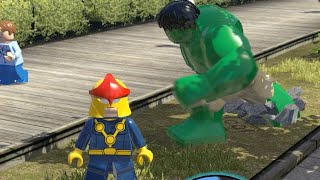 getlinkyoutube.com-LEGO Marvel Superheroes - Multiplayer FREE ROAM GAMEPLAY
