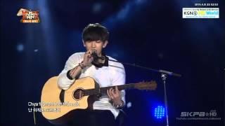 getlinkyoutube.com-150408 EXO 엑소 Suho, Xiumin, Chen, ChanYeol   Nguoi Ay Người Ấy @ Music Bank in Ha Noi 2015
