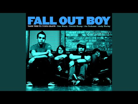 homesick at spacecamp de fall out boy Letra y Video
