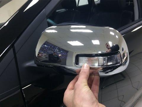 Накладки на зеркала BYD S6 C31 (БИД С6)