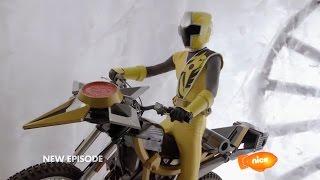 "Power Rangers Ninja Steel Episode 5 ""Drive to Survive"" - Mega Morph Cycle"