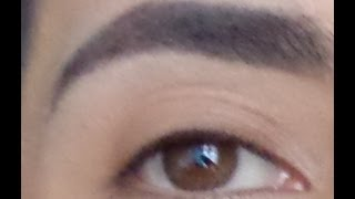 getlinkyoutube.com-como maquillarse las cejas / how I do my eyebrows