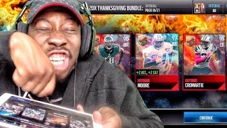 getlinkyoutube.com-THANKSGIVING PACK OPENING & ELITE EXCHANGE SETS! Madden Mobile 17 Gameplay Ep. 10